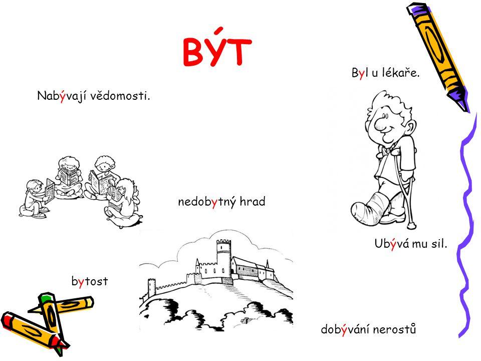 BYDLIT moje bydliště pohodlné bydlení Bydlíme na vesnici/ve městě. bydlení dříve