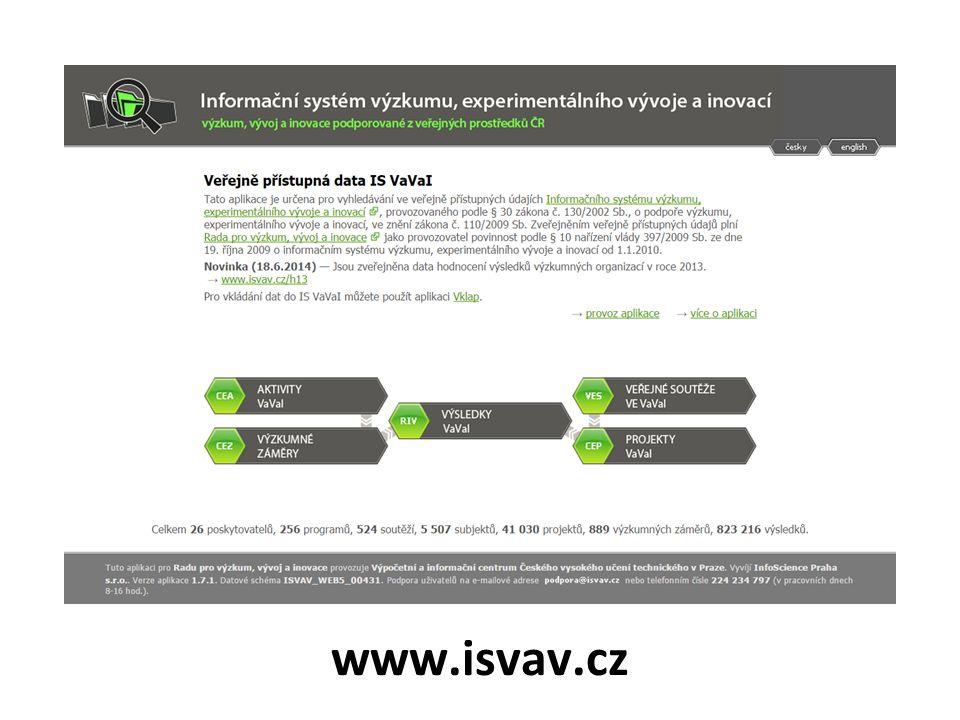 www.isvav.cz