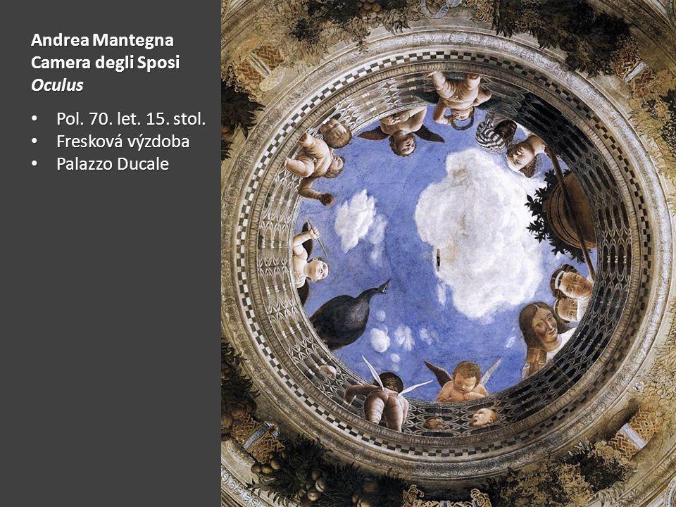 Andrea Mantegna Camera degli Sposi Oculus Pol.70.
