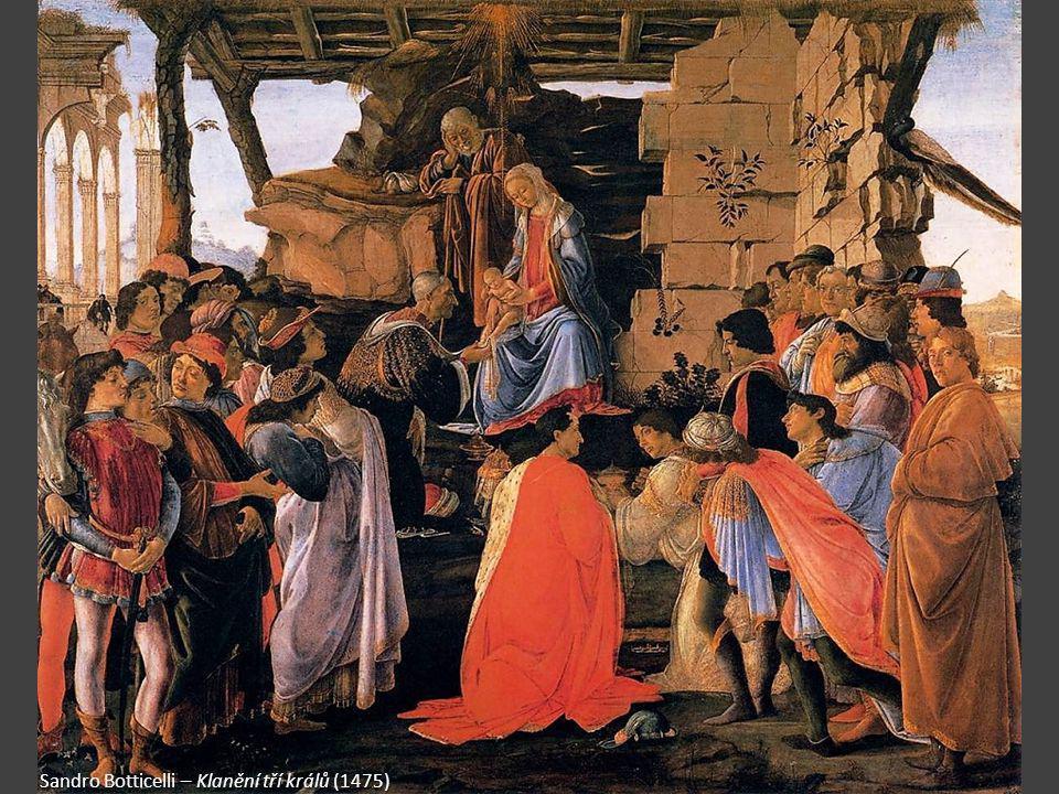 Sandro Botticelli – Klanění tří králů (1475)