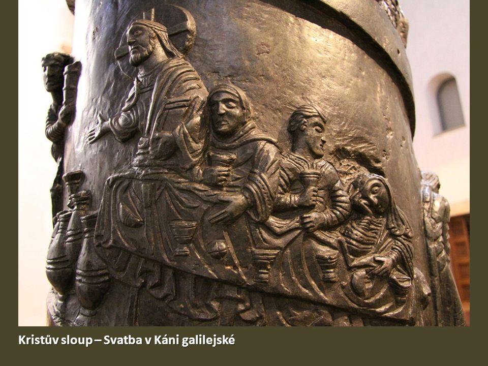 Kristův sloup – Svatba v Káni galilejské