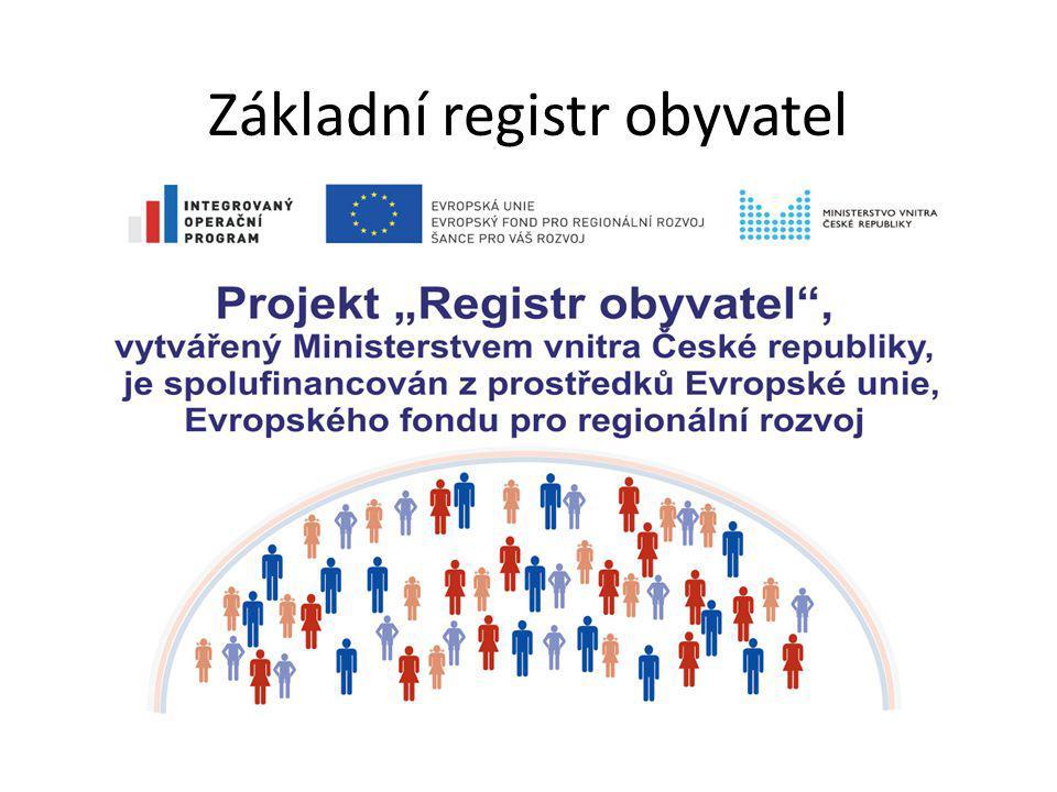 Základní registr obyvatel