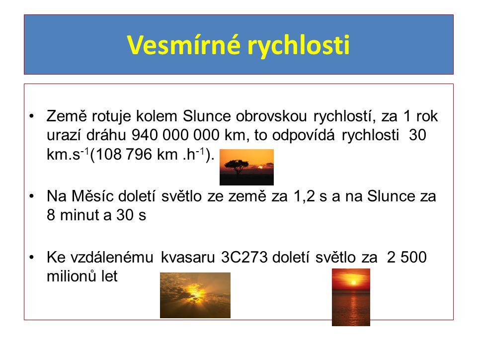 Vesmírné zajímavosti Průměrná teplota Uranu je asi -220 o C Nejchladnější místo vesmíru má teplotu asi -270 o C Světový rekord pobytu člověka v kosmu je 437 dní 17 hodin a 59 minut ( 1994, Vladimír Vladimirovič Poljakov).