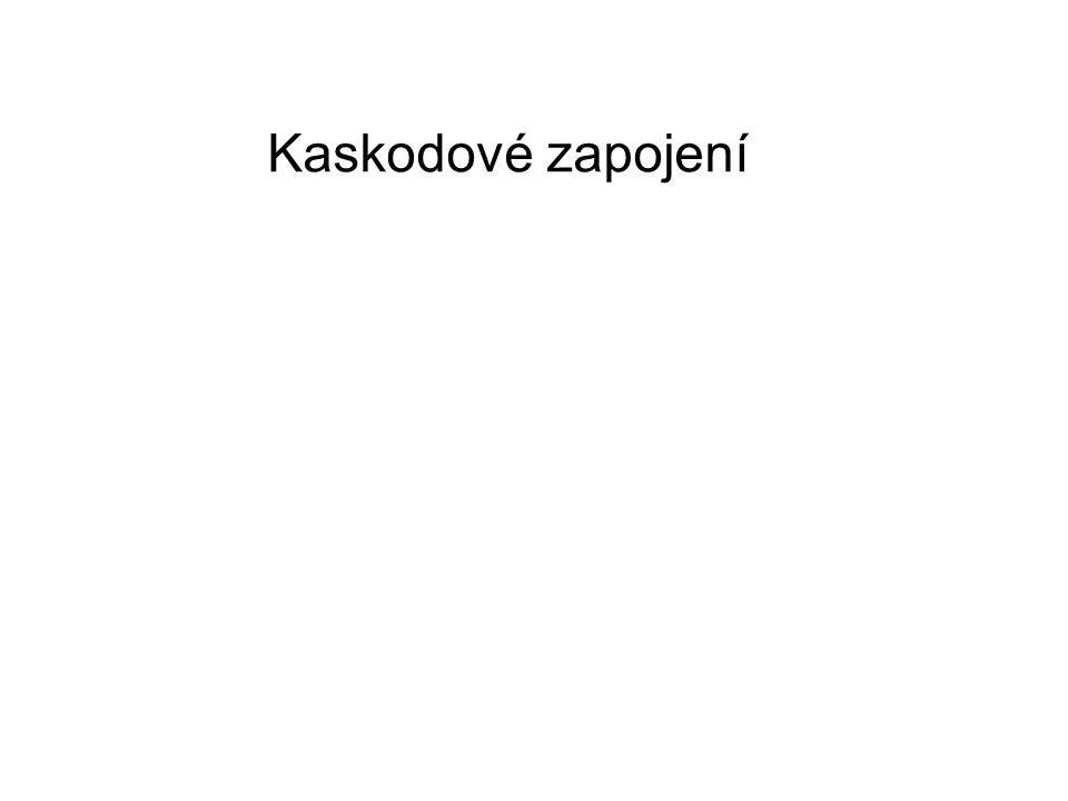 Kaskodové zapojení
