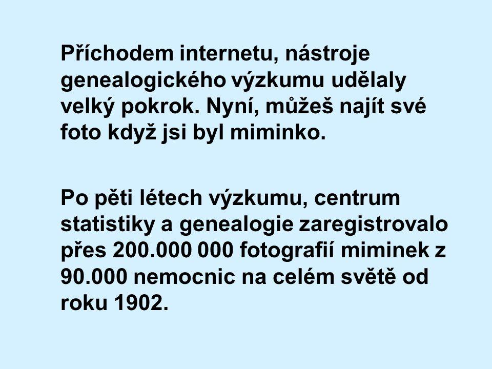 Příchodem internetu, nástroje genealogického výzkumu udělaly velký pokrok.