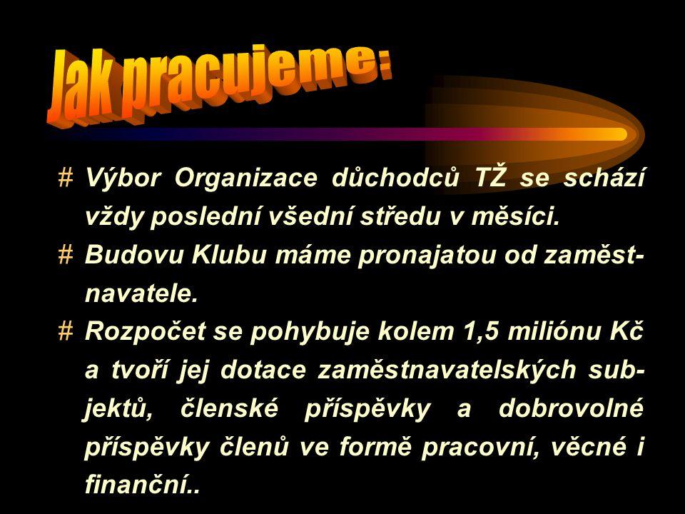 Klub důchodců Třineckých železáren Třinec - Folvark, Kaštanová 2 Klubovna z bufetem je otevřena ve všední dny od 13'00 do 18'00 hodin Úřední dny sekretariátu jsou vždy v úterý a pátek [když není svátek] od 8' 00 do 11' 45 hodin