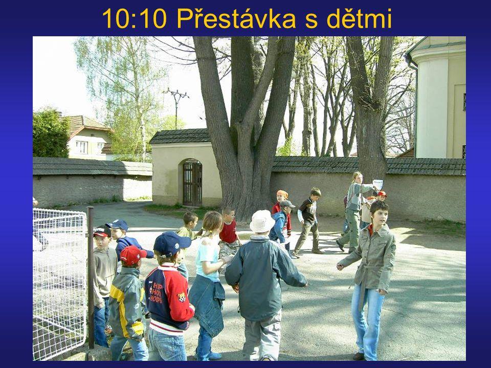 10:10 Přestávka s dětmi