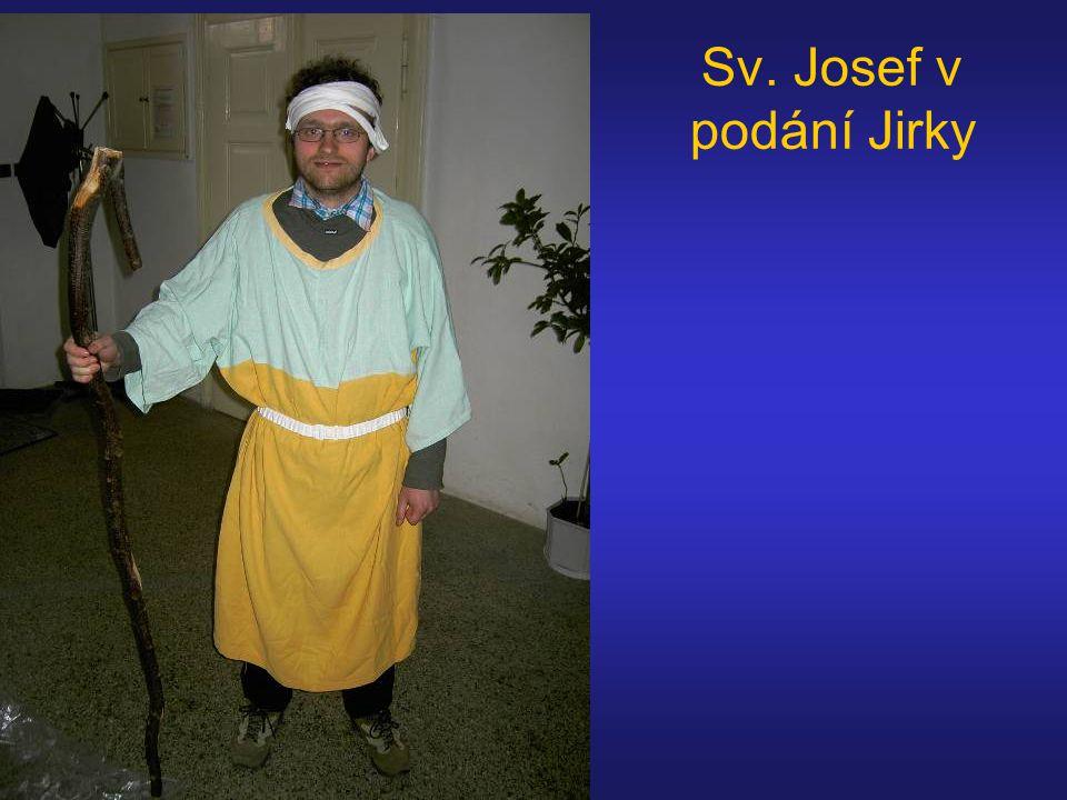 Sv. Josef v podání Jirky