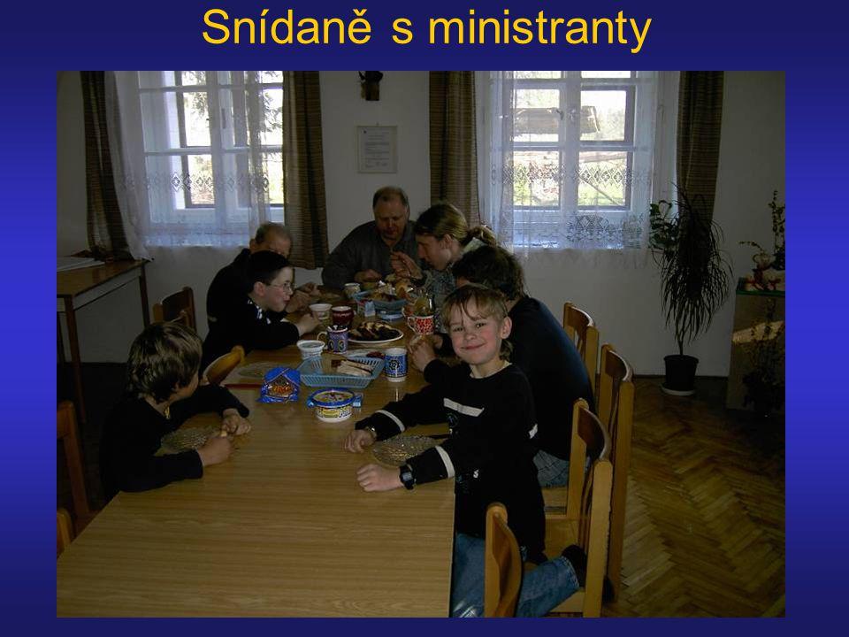 Snídaně s ministranty