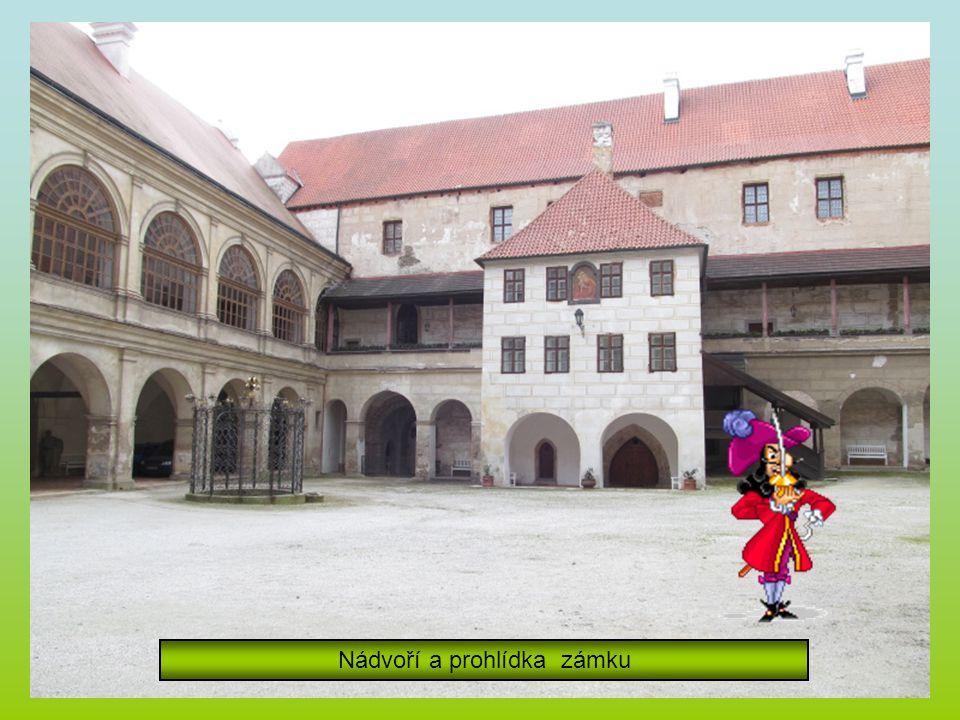 Zámek Horšovský Týn a pionýrská parta