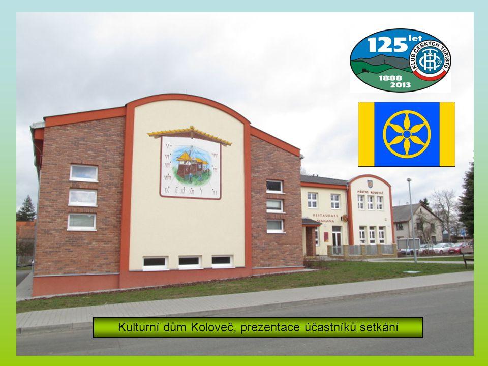 Kulturní dům Koloveč, prezentace účastníků setkání