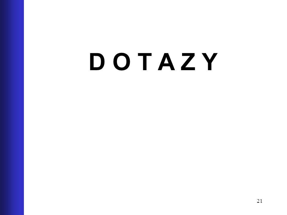 21 D O T A Z Y
