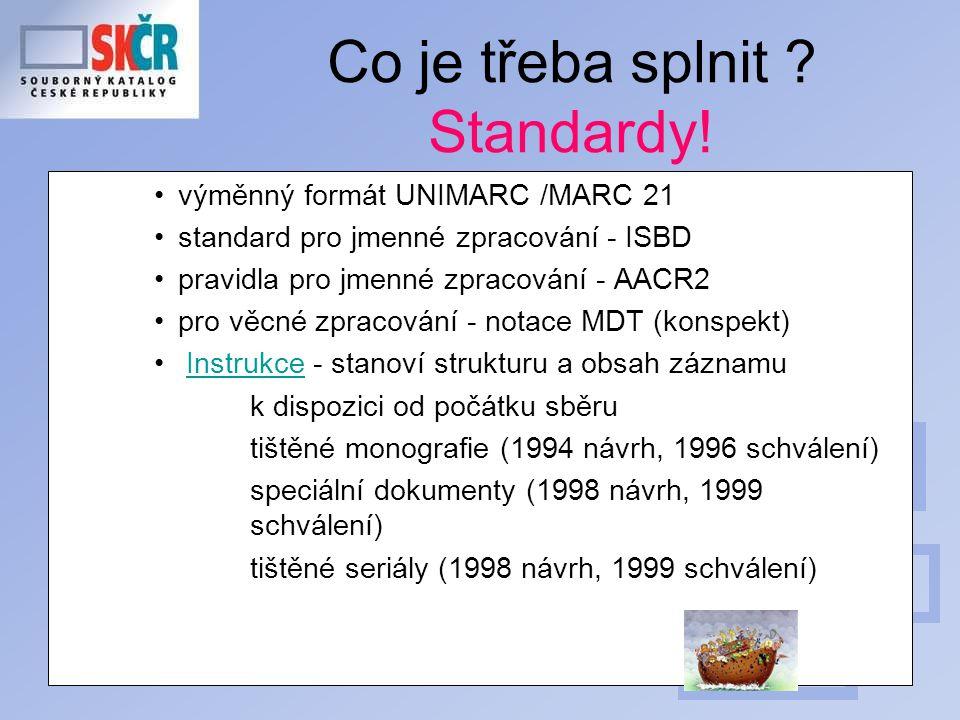 V jakém formátu přijímá SK ČR data .