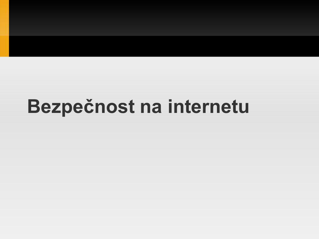 Phishing Jedná se podvodnou techniku, jejímž cílem je získat citlivá data od uživatelů.