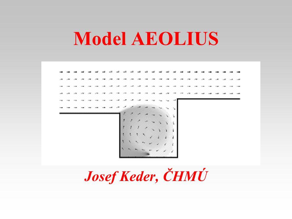 Model AEOLIUS Josef Keder, ČHMÚ