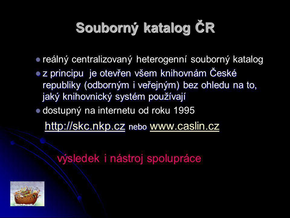 Proč spolupracovat se SK ČR ? Protože je to výhodné pro obě strany.