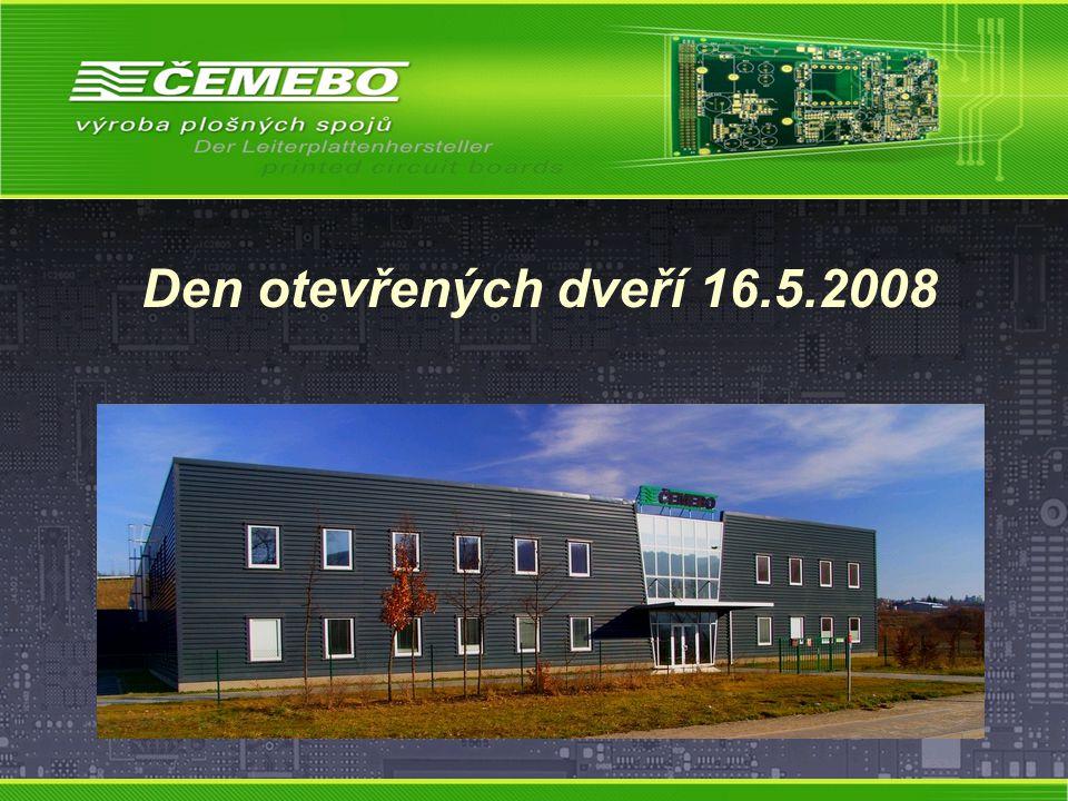 Den otevřených dveří 16.5.2008
