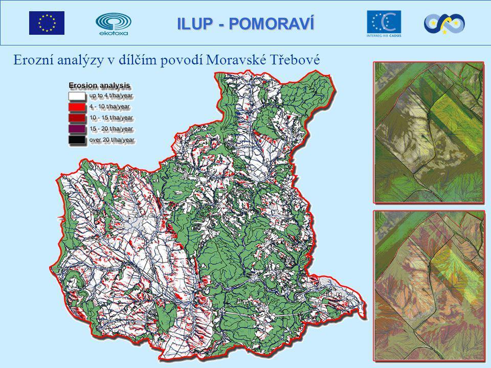 ILUP - POMORAVÍ Erozní analýzy v dílčím povodí Moravské Třebové