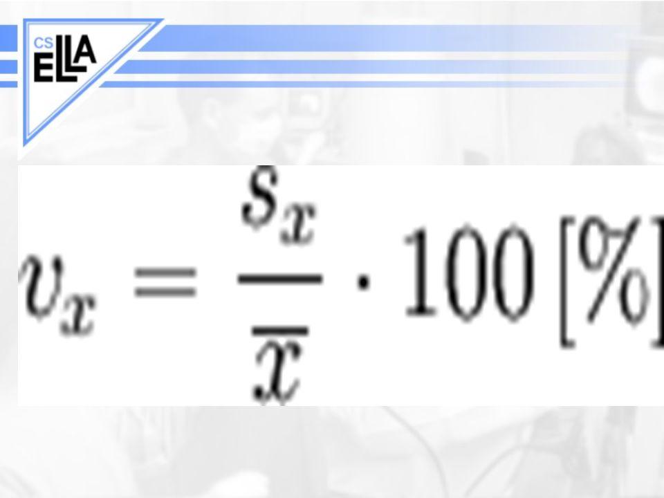 Regrese Předpoklady –chyby mají Gaussovo rozdělení –chyby mají stejný rozptyl (homoskedascita) –vysvětlující (nezávislá) proměnná je nenáhodná (experimentátor může její hodnotu zvolit) –pro predikci hodnot lze použít hodnoty nezávisle proměnné pouze z intervalu, ve kterém se nacházely hodnoty, ze kterých byly parametry regresní přímky počítány Lineární kalibrace - z hodnoty závisle proměnné se určuje nezávisle proměnná