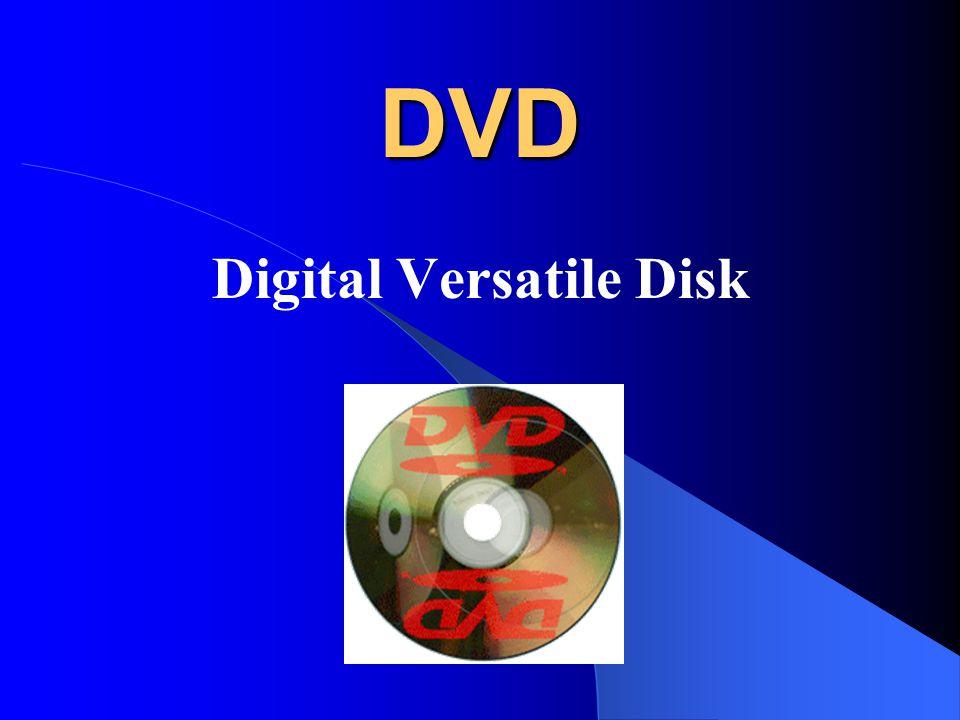 DVD-ROM DVD-ROM (playback only) Toto médium je jakási obdoba lisovaného CD pro DVD.