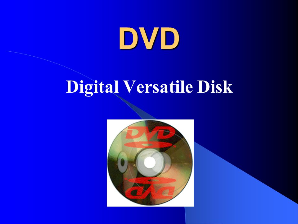 I. Úvod II. Co je DVD III. Formáty DVD IV. Závěr