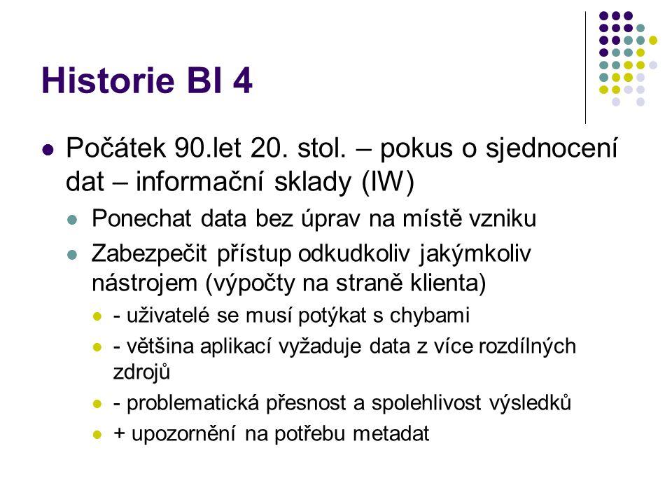 Historie BI 5 90.léta 20. stol.
