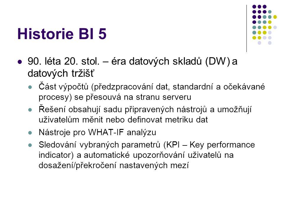 Historie BI 5 90. léta 20. stol.