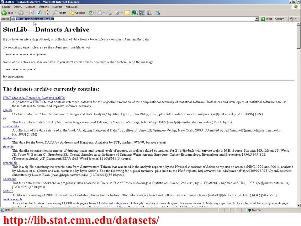 http://lib.stat.cmu.edu/datasets/