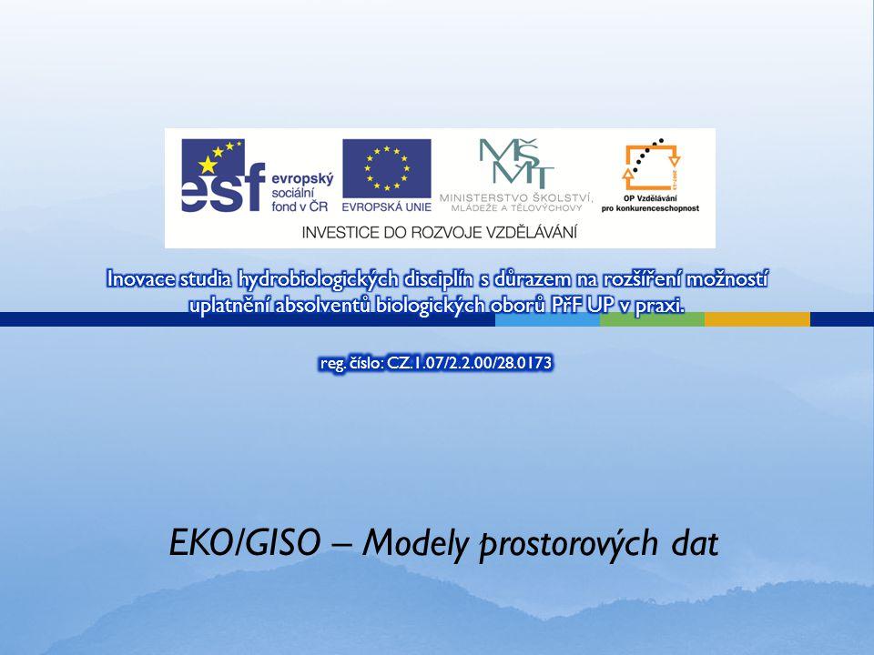 EKO/GISO – Modely prostorových dat