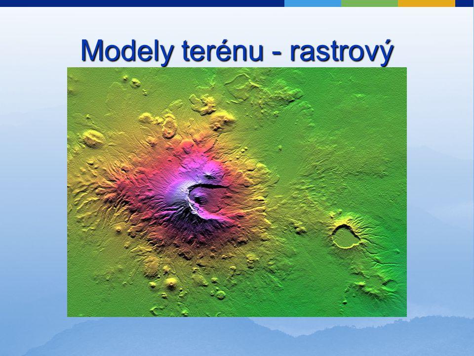 Modely terénu - rastrový