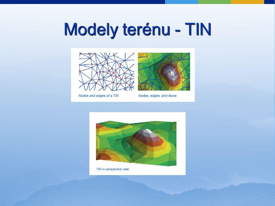 Modely terénu - TIN