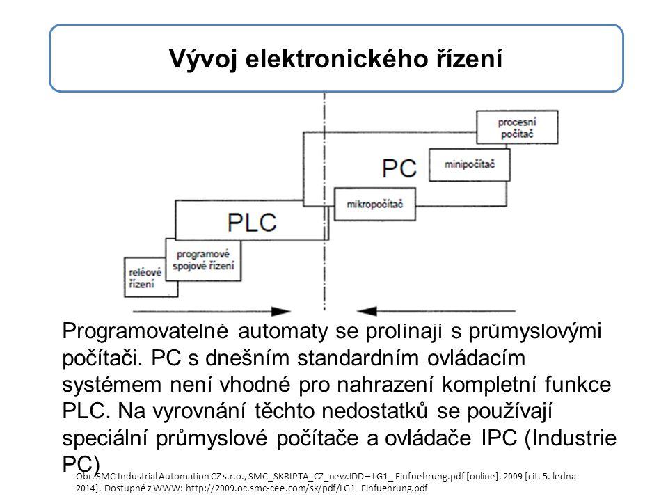 Programovatelné automaty se prolínají s průmyslovými počítači.