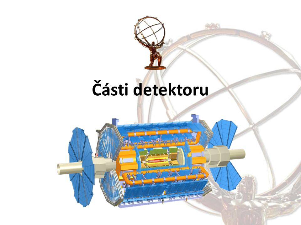 Části detektoru