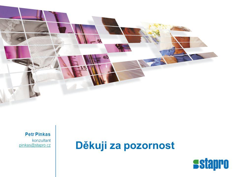 Děkuji za pozornost Petr Pinkas konzultant pinkas@stapro.cz pinkas@stapro.cz