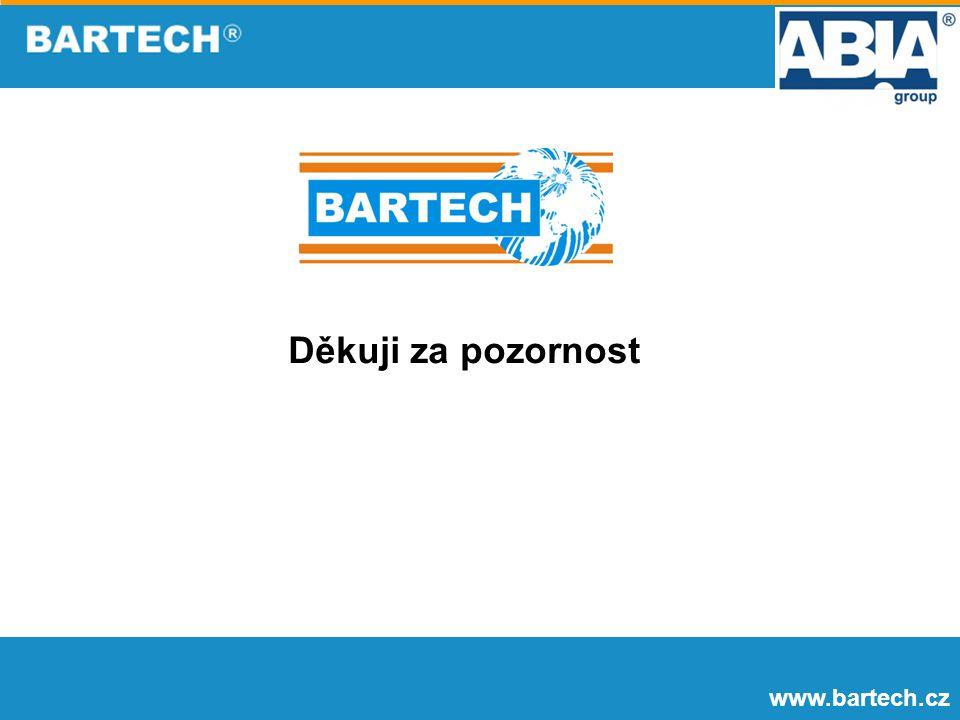 www.bartech.cz Děkuji za pozornost