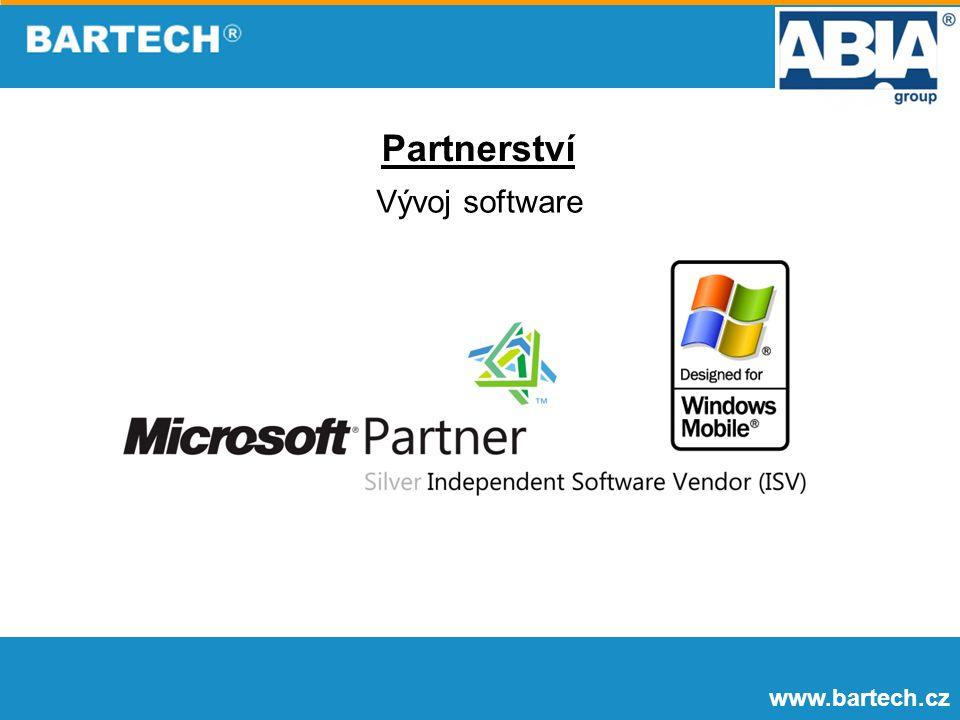 www.bartech.cz Vývoj software Partnerství