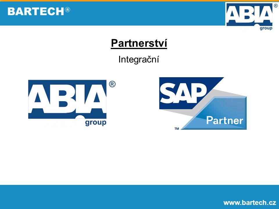 www.bartech.cz Partnerství Integrační