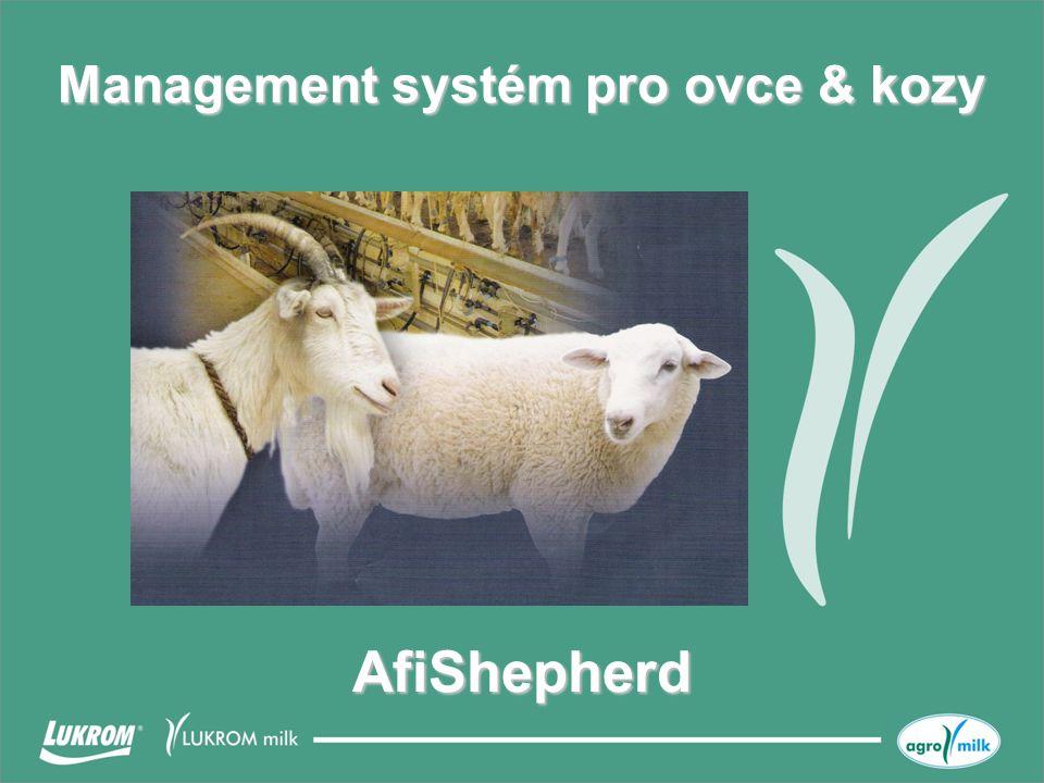 Management systém pro ovce & kozy AfiShepherd