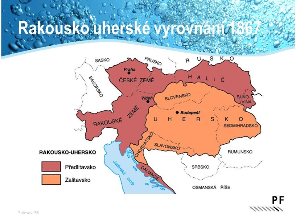 Rakousko uherské vyrovnání 1867 Snímek 33