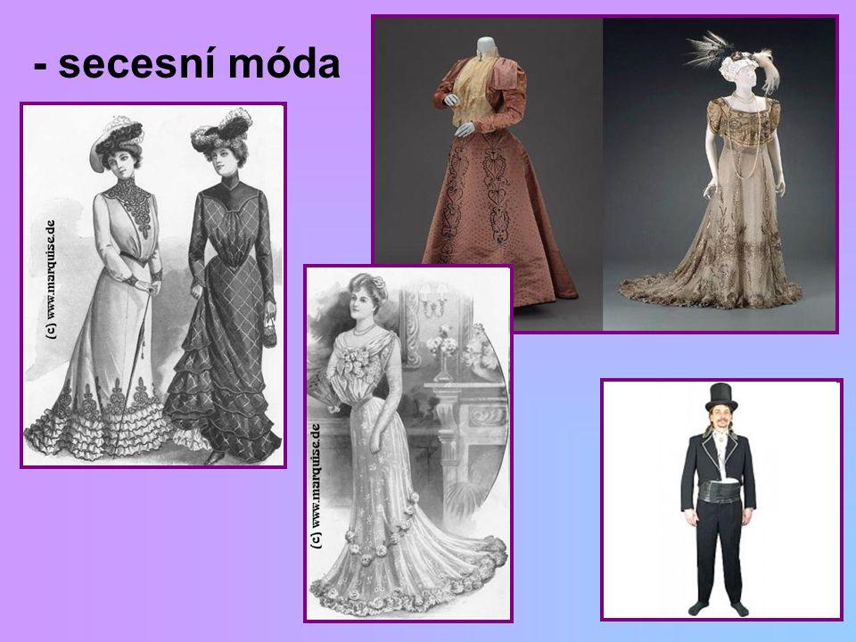 - secesní móda