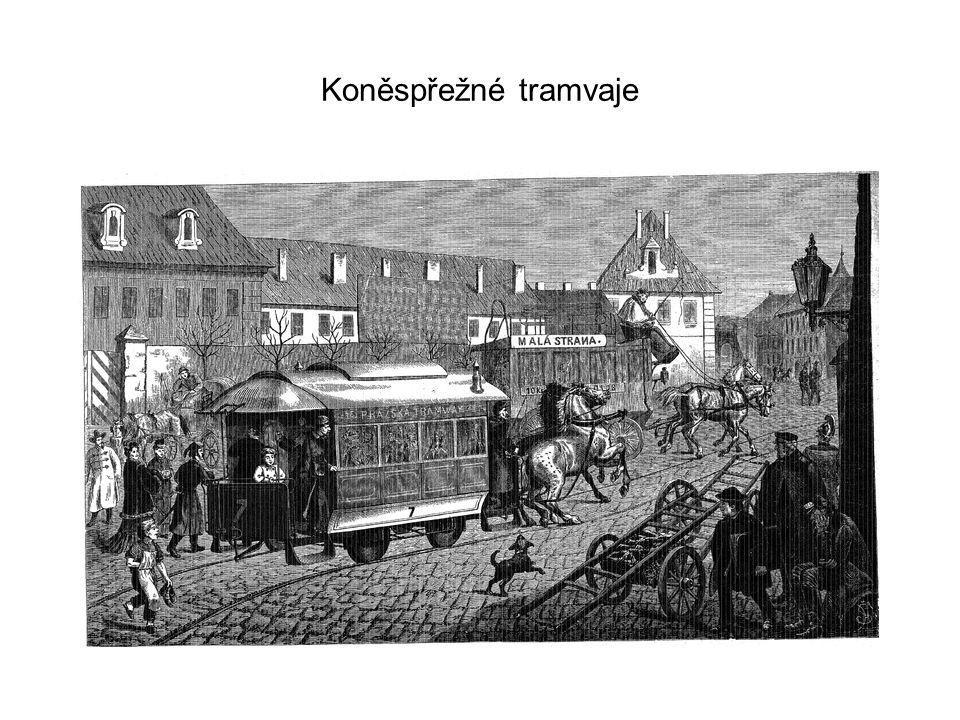 Koněspřežné tramvaje