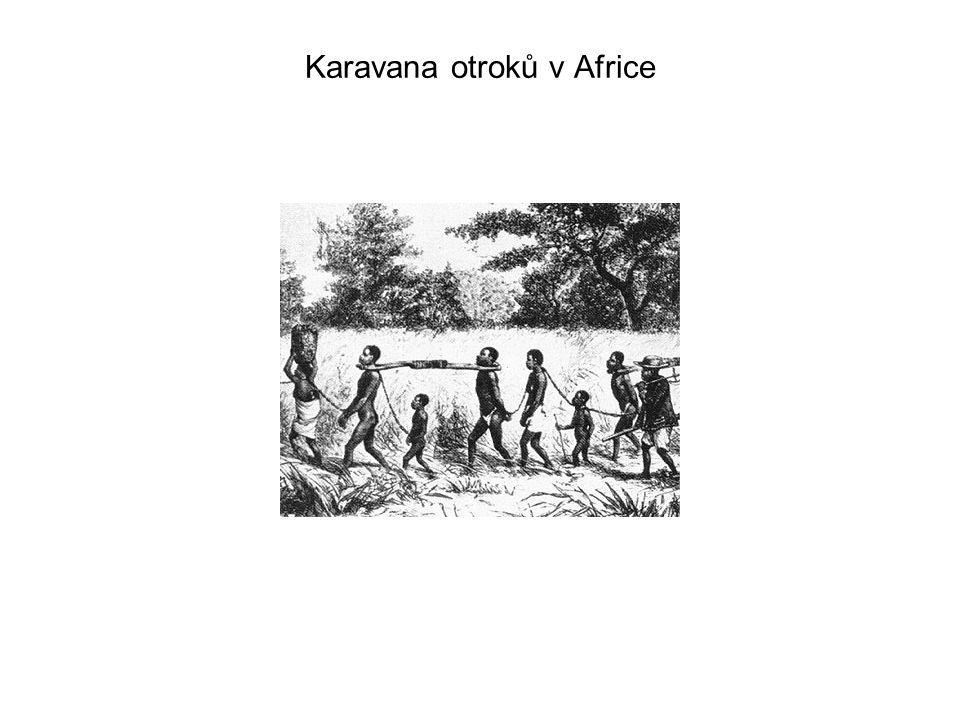Karavana otroků v Africe