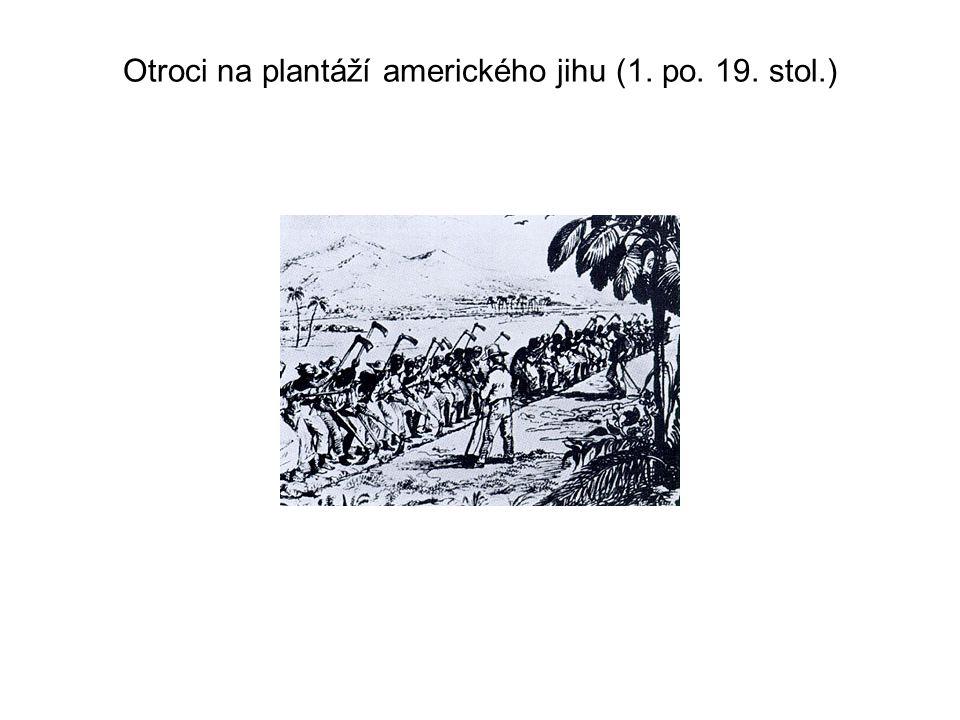 Otroci na plantáží amerického jihu (1. po. 19. stol.)