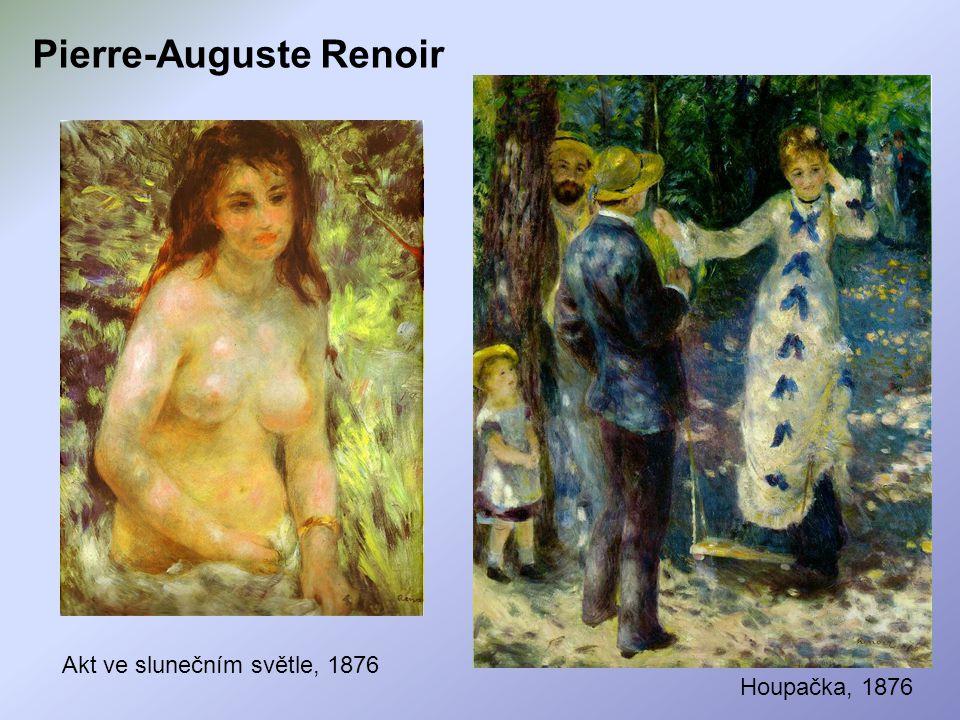 Pierre-Auguste Renoir Akt ve slunečním světle, 1876 Houpačka, 1876