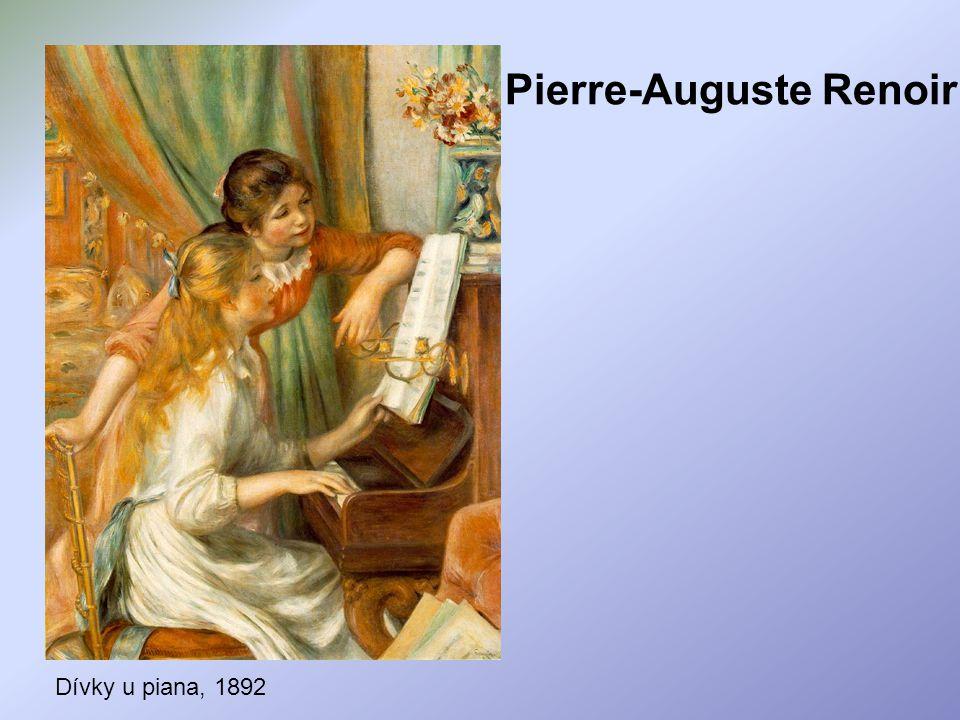Pierre-Auguste Renoir Dívky u piana, 1892