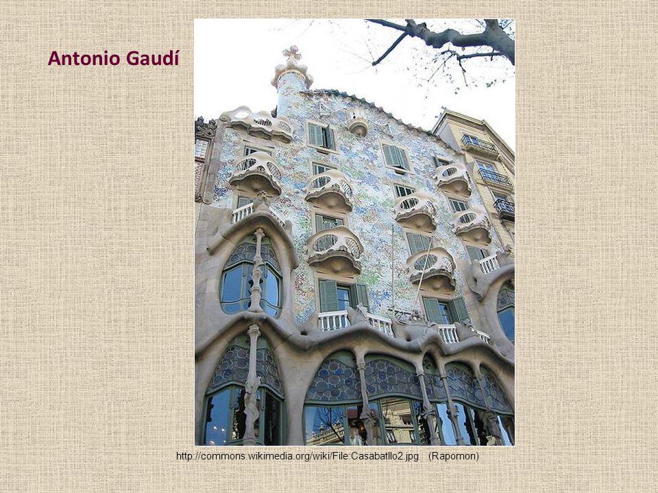 Antonio Gaudí http://commons.wikimedia.org/wiki/File:Casabatllo2.jpg(Rapomon)