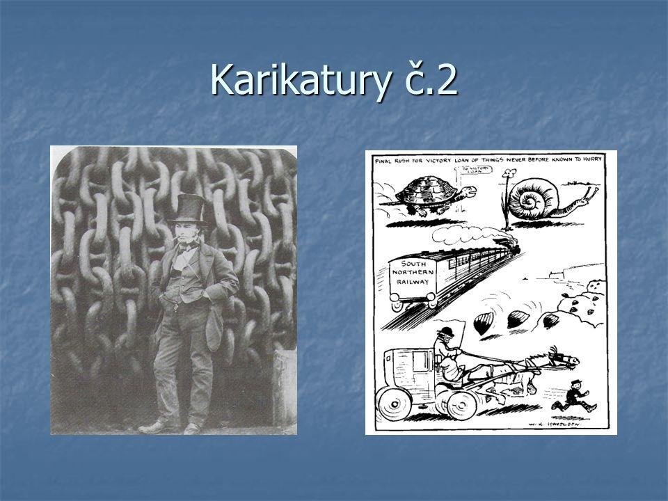 Karikatury č.3 Karikatury č.3