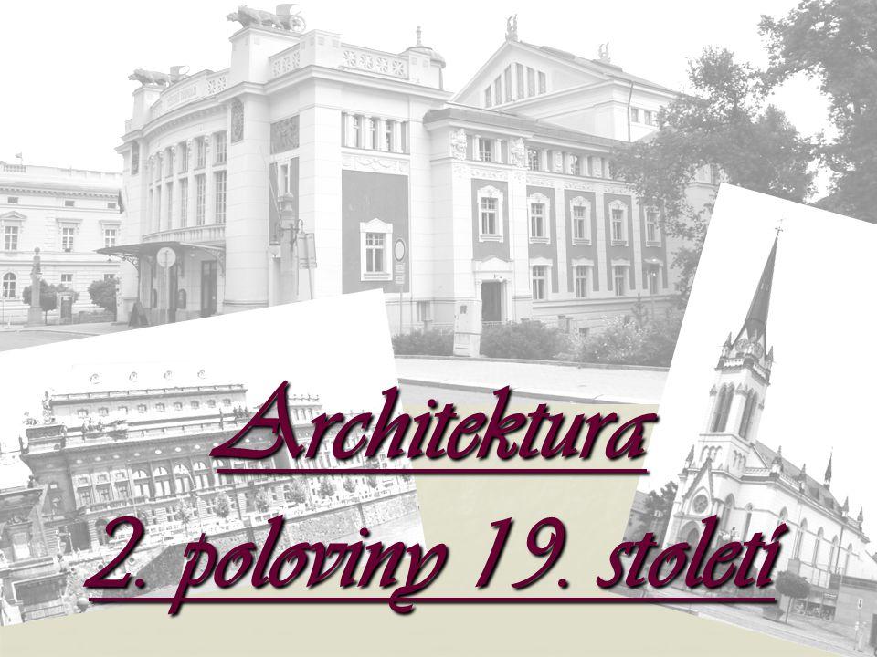 Jaké známe architektonické slohy.
