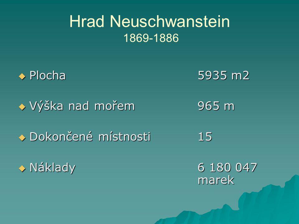  Plocha5935 m2  Výška nad mořem965 m  Dokončené místnosti 15  Náklady6 180 047 marek