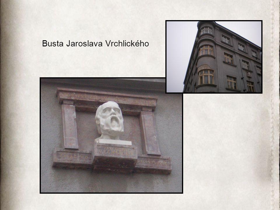 Busta Jaroslava Vrchlického